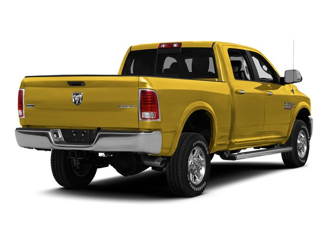 Yellow 2015 Ram Truck 2500 Pictures 2500 Crew Cab SLT 4WD photos rear view