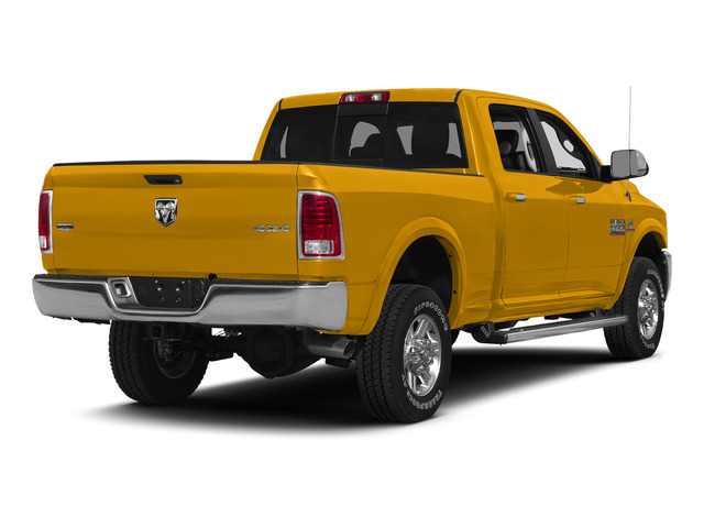 Construction Yellow 2015 Ram Truck 2500 Pictures 2500 Crew Cab SLT 4WD photos rear view