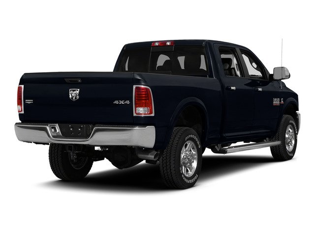 Midnight Blue Pearlcoat 2015 Ram Truck 2500 Pictures 2500 Crew Cab SLT 4WD photos rear view