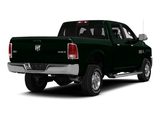 Black Forest Green Pearlcoat 2015 Ram Truck 2500 Pictures 2500 Crew Cab Tradesman 4WD photos rear view