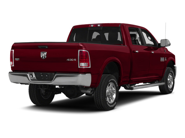 Deep Cherry Red Crystal Pearlcoat 2015 Ram Truck 2500 Pictures 2500 Crew Cab SLT 2WD photos rear view