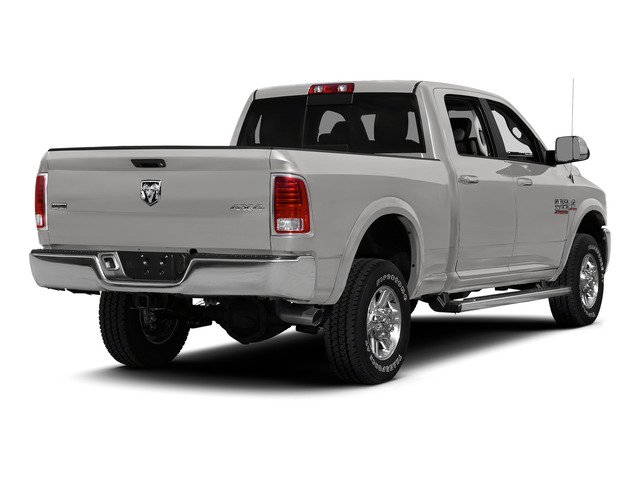 Bright Silver Metallic Clearcoat 2015 Ram Truck 2500 Pictures 2500 Crew Cab SLT 4WD photos rear view
