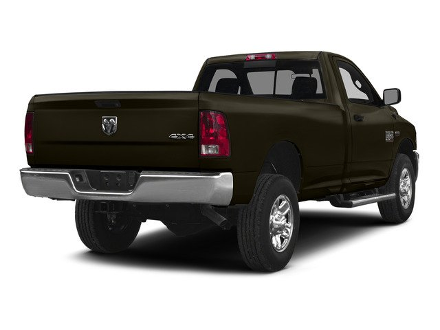 Dark Brown 2015 Ram Truck 2500 Pictures 2500 Regular Cab SLT 4WD photos rear view