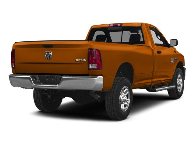 Omaha Orange 2015 Ram Truck 2500 Pictures 2500 Regular Cab Tradesman 4WD photos rear view