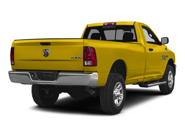 Yellow 2015 Ram Truck 2500 Pictures 2500 Regular Cab SLT 4WD photos rear view