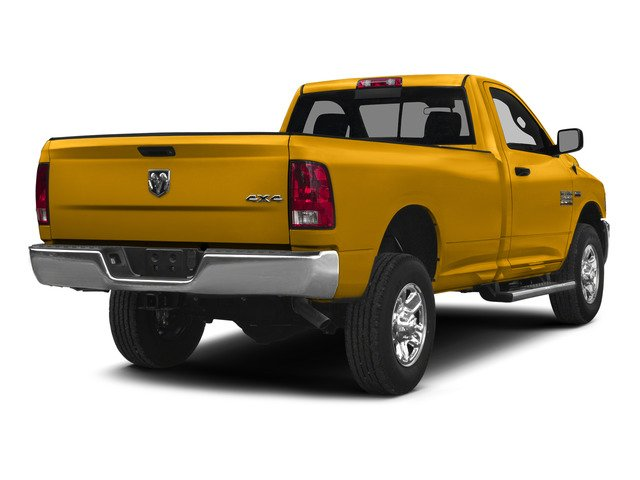 Construction Yellow 2015 Ram Truck 2500 Pictures 2500 Regular Cab SLT 4WD photos rear view