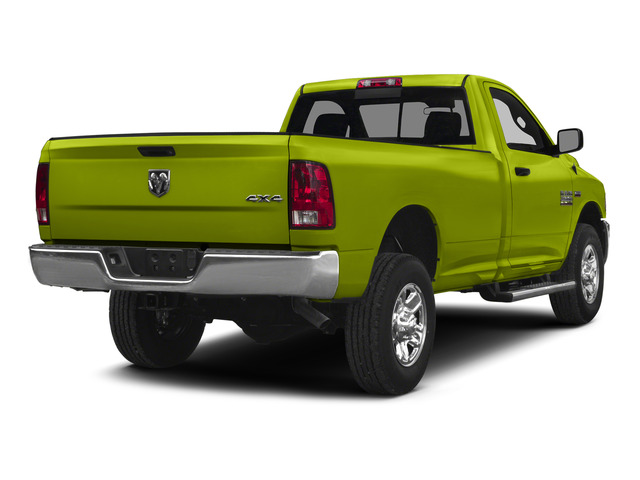 National Safety Yellow 2015 Ram Truck 2500 Pictures 2500 Regular Cab SLT 4WD photos rear view