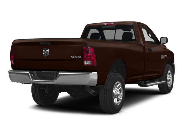 Western Brown 2015 Ram Truck 2500 Pictures 2500 Regular Cab SLT 4WD photos rear view