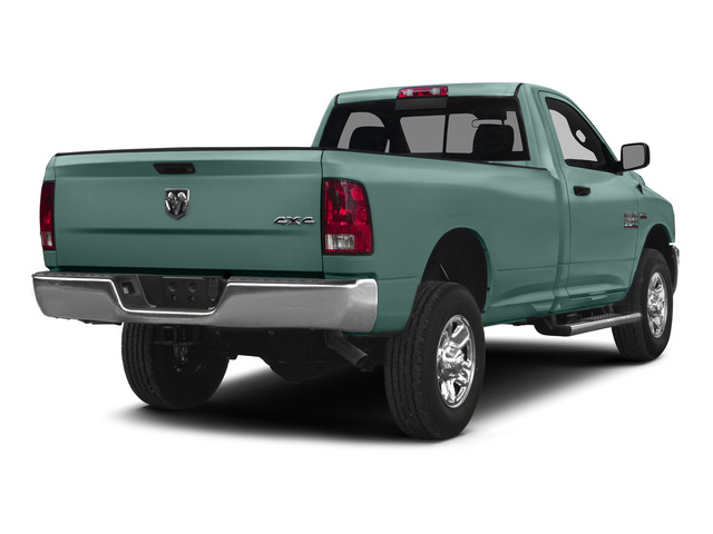 Light Green 2015 Ram Truck 2500 Pictures 2500 Regular Cab Tradesman 4WD photos rear view