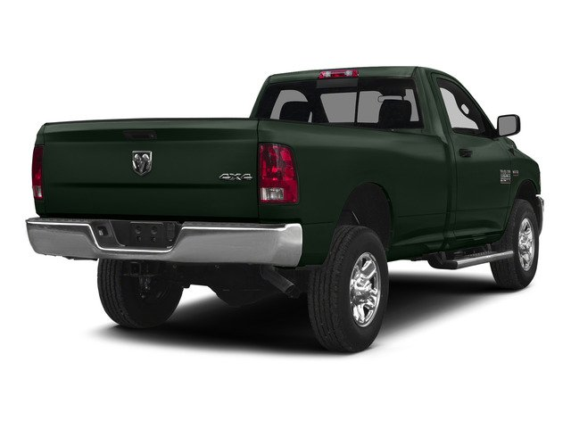 Black Forest Green Pearlcoat 2015 Ram Truck 2500 Pictures 2500 Regular Cab SLT 4WD photos rear view