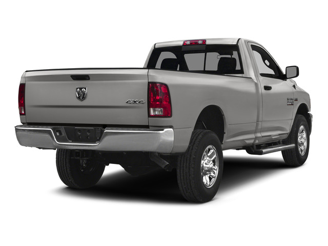 Bright Silver Metallic Clearcoat 2015 Ram Truck 2500 Pictures 2500 Regular Cab Tradesman 4WD photos rear view