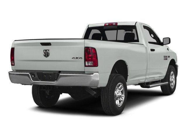 Bright White Clearcoat 2015 Ram Truck 2500 Pictures 2500 Regular Cab SLT 4WD photos rear view