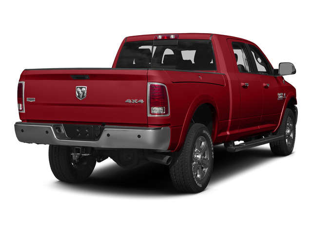 Bright Red 2015 Ram Truck 3500 Pictures 3500 Mega Cab SLT 2WD photos rear view