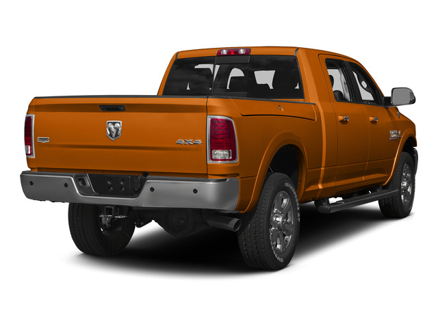 Omaha Orange 2015 Ram Truck 3500 Pictures 3500 Mega Cab SLT 2WD photos rear view