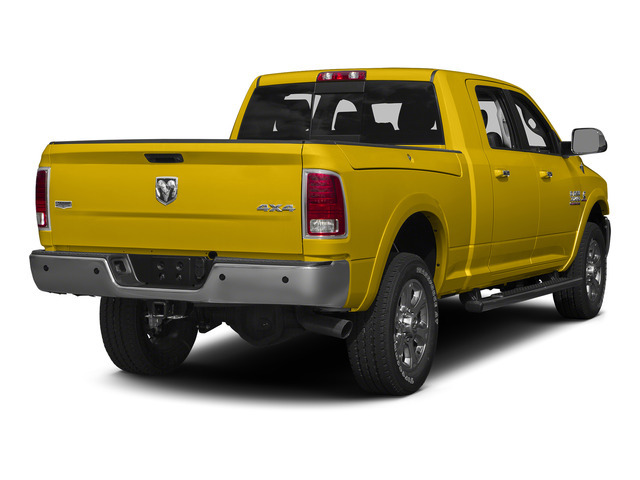 Yellow 2015 Ram Truck 3500 Pictures 3500 Mega Cab SLT 2WD photos rear view