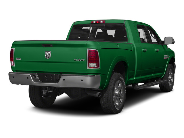 Bright Green 2015 Ram Truck 3500 Pictures 3500 Mega Cab SLT 2WD photos rear view