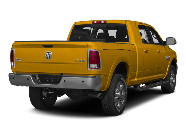 Construction Yellow 2015 Ram Truck 3500 Pictures 3500 Mega Cab SLT 2WD photos rear view