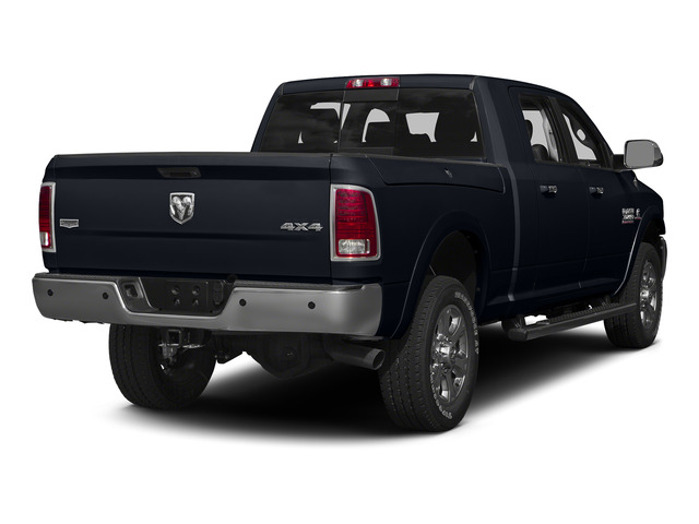 Midnight Blue Pearlcoat 2015 Ram Truck 3500 Pictures 3500 Mega Cab SLT 2WD photos rear view