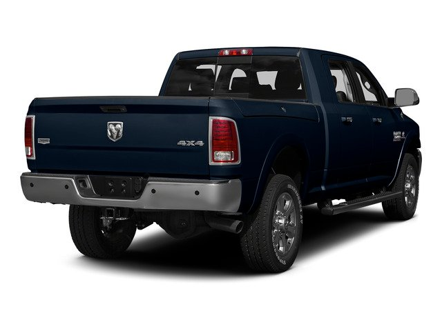 True Blue Pearlcoat 2015 Ram Truck 3500 Pictures 3500 Mega Cab Limited 4WD photos rear view