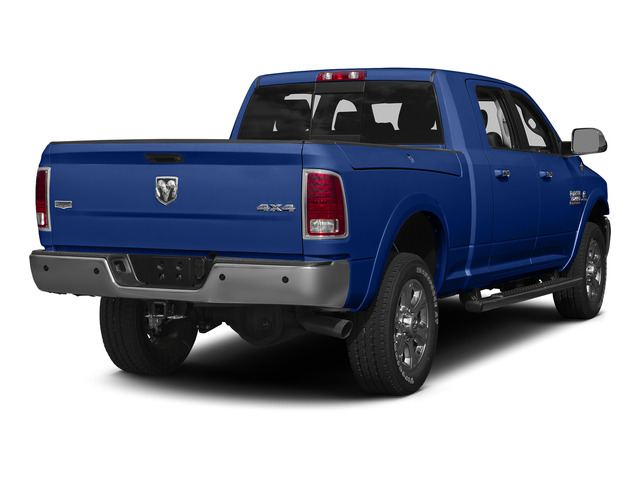 Blue Streak Pearlcoat 2015 Ram Truck 3500 Pictures 3500 Mega Cab Laramie 4WD photos rear view
