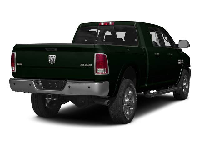 Black Forest Green Pearlcoat 2015 Ram Truck 3500 Pictures 3500 Mega Cab SLT 4WD photos rear view