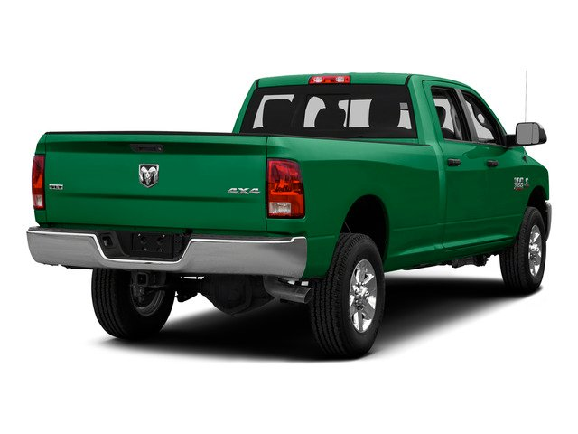 Bright Green 2015 Ram Truck 3500 Pictures 3500 Crew Cab SLT 2WD photos rear view