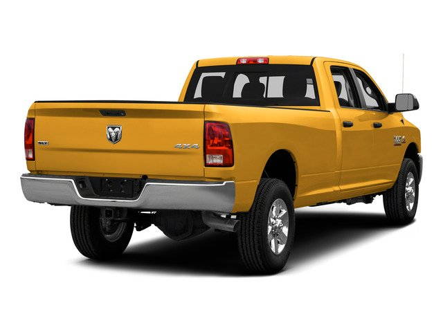 Construction Yellow 2015 Ram Truck 3500 Pictures 3500 Crew Cab SLT 2WD photos rear view