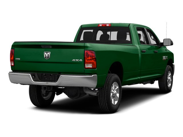 Tree Green 2015 Ram Truck 3500 Pictures 3500 Crew Cab SLT 2WD photos rear view