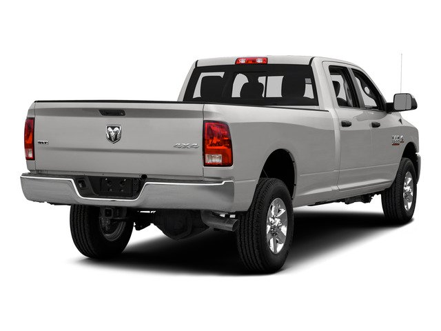 Bright Silver Metallic Clearcoat 2015 Ram Truck 3500 Pictures 3500 Crew Cab Laramie 4WD photos rear view