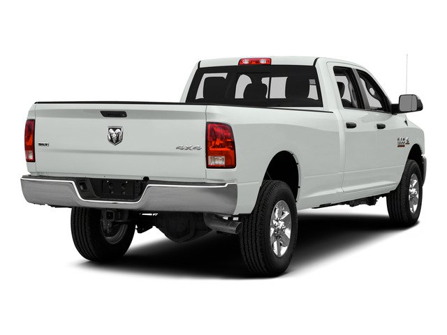 Bright White Clearcoat 2015 Ram Truck 3500 Pictures 3500 Crew Cab Laramie 4WD photos rear view