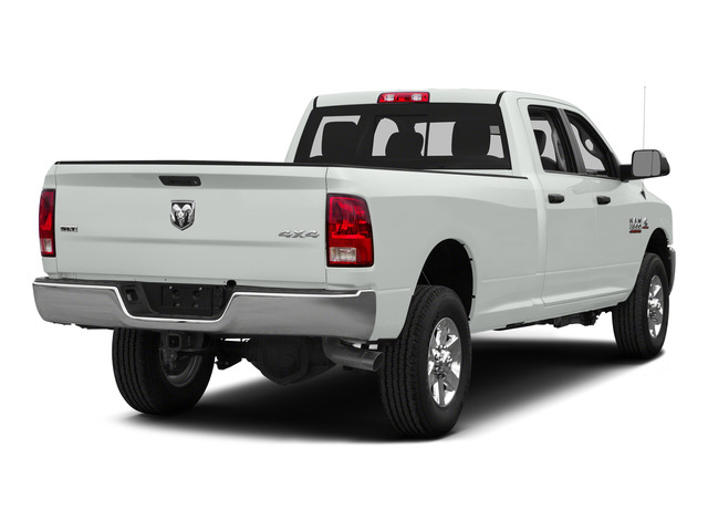 Bright White Clearcoat 2015 Ram Truck 3500 Pictures 3500 Crew Cab SLT 2WD photos rear view