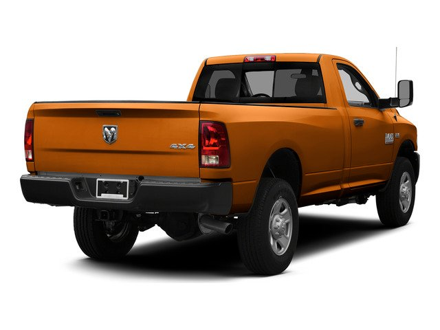 Omaha Orange 2015 Ram Truck 3500 Pictures 3500 Regular Cab Tradesman 2WD photos rear view