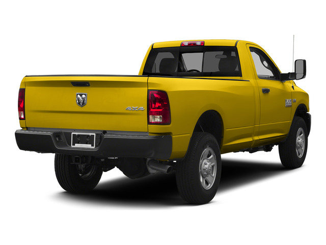 Yellow 2015 Ram Truck 3500 Pictures 3500 Regular Cab Tradesman 2WD photos rear view