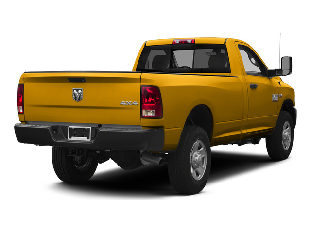 Construction Yellow 2015 Ram Truck 3500 Pictures 3500 Regular Cab Tradesman 2WD photos rear view