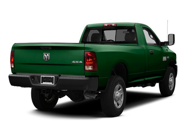 Tree Green 2015 Ram Truck 3500 Pictures 3500 Regular Cab Tradesman 2WD photos rear view