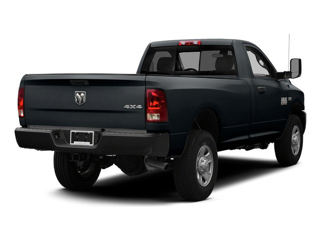 Maximum Steel Metallic Clearcoat 2015 Ram Truck 3500 Pictures 3500 Regular Cab Tradesman 2WD photos rear view