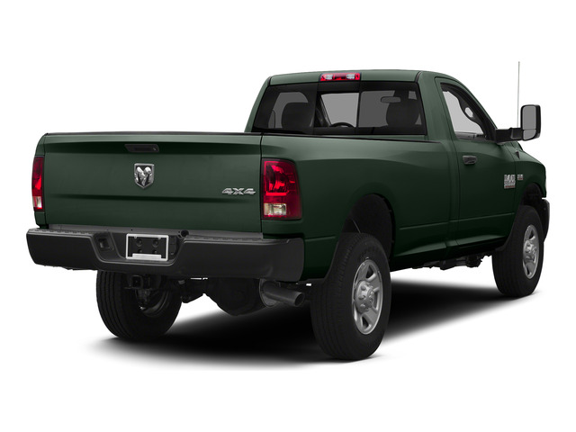 Black Forest Green Pearlcoat 2015 Ram Truck 3500 Pictures 3500 Regular Cab Tradesman 2WD photos rear view