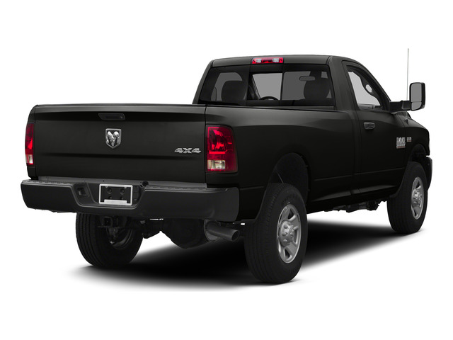 Black Clearcoat 2015 Ram Truck 3500 Pictures 3500 Regular Cab Tradesman 2WD photos rear view