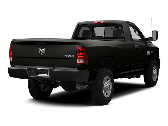 Brilliant Black Crystal Pearlcoat 2015 Ram Truck 3500 Pictures 3500 Regular Cab Tradesman 2WD photos rear view