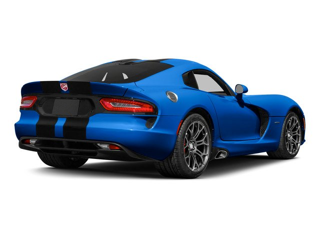 Competition Blue Pearl Coat 2015 Dodge Viper Pictures Viper 2 Door Coupe photos rear view