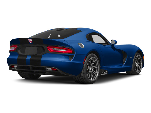 GTS-R Blue Pearlcoat 2015 Dodge Viper Pictures Viper 2 Door Coupe photos rear view