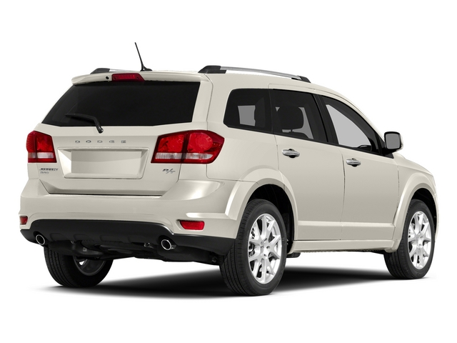 Pearl White Tri-Coat 2015 Dodge Journey Pictures Journey Utility 4D R/T 2WD photos rear view