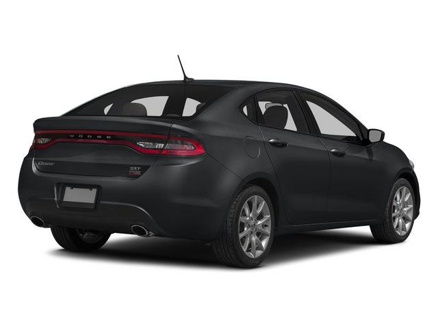 Granite Crystal Metallic Clearcoat 2015 Dodge Dart Pictures Dart Sedan 4D Aero I4 Turbo photos rear view