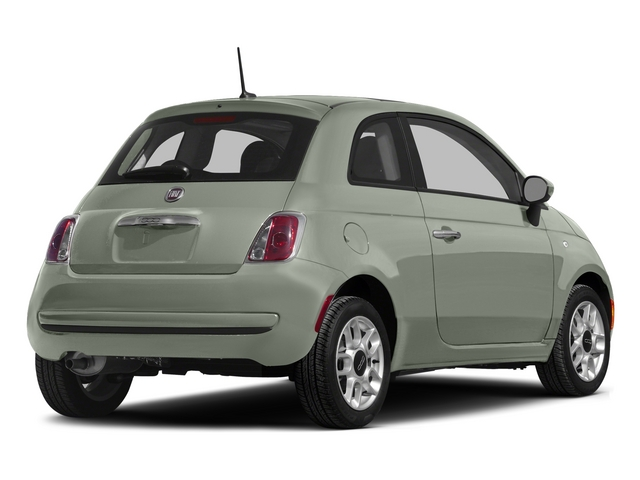 Verde Chiaro (Light Green) 2015 FIAT 500 Pictures 500 Hatchback 3D Sport I4 photos rear view