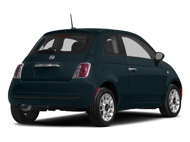 Verde Azzurro (Blue-Green) 2015 FIAT 500 Pictures 500 Hatchback 3D Sport I4 photos rear view