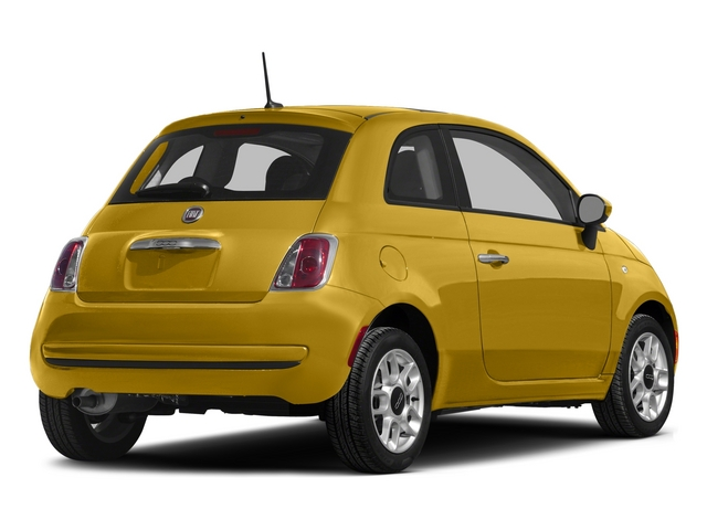 Giallo Moderna Perla (Pearl Yellow TC) 2015 FIAT 500 Pictures 500 Hatchback 3D Sport I4 photos rear view