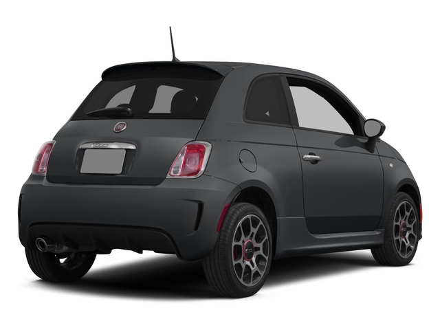 Granito Lucente (Granite Crystal) 2015 FIAT 500 Pictures 500 Hatchback 3D I4 Turbo photos rear view