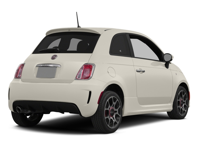Bianco (White) 2015 FIAT 500 Pictures 500 Hatchback 3D I4 Turbo photos rear view