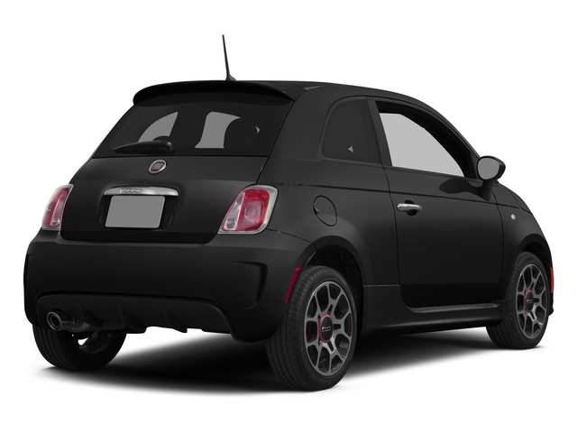 Nero Puro (Straight Black) 2015 FIAT 500 Pictures 500 Hatchback 3D I4 Turbo photos rear view