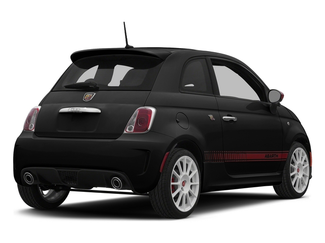 Nero Puro (Straight Black) 2015 FIAT 500 Pictures 500 Hatchback 3D Abarth I4 photos rear view